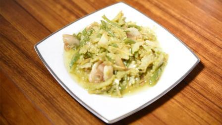 食社家常菜谱之苦瓜炒肉, 适合夏季吃的家常小炒!