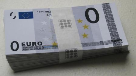 奇葩货币! 欧元有一种面额为0欧元, 让人怎么花?