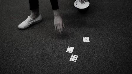 一起来看炫酷花切的背后是如何练习AMAZING way to pick up DROPPED CARDS __ TUTORIAL