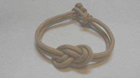 手工编绳, 这款手链大气漂亮, 编法简单易学