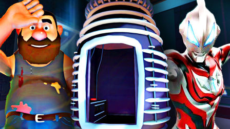【屌德斯解说】 白日梦伙计 大结局上篇 在实验室中发现捷德奥特曼里的传送电梯