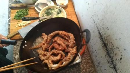 脆皮鱼的做法 浙江省绍兴市上虞区永和镇特色美食视频