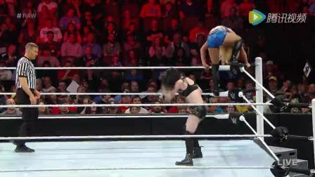 WWE美式摔跤娱乐 RAW 5 9 神奇小子遭驱逐 夏洛特败北不敌佩吉
