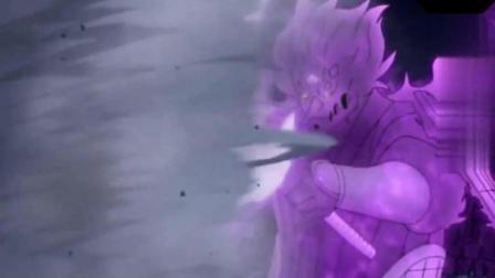 火影忍者: 除了鸣人就只有他的风遁最强了吧, 一招逼退须佐!