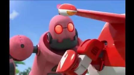 超级飞侠: 机器人失控了, 多多用超强工具米莉超强大脑组合来救援, 加油哦