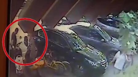西安发生连环盗车案, 实拍偷车贼作案过程