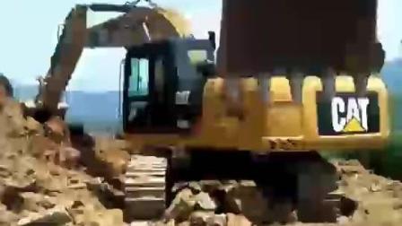 土豪老板一次性买22台挖掘机, 卡特320多少钱一台?
