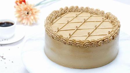 Vivi烘焙课堂(34) - 法式摩卡蛋糕