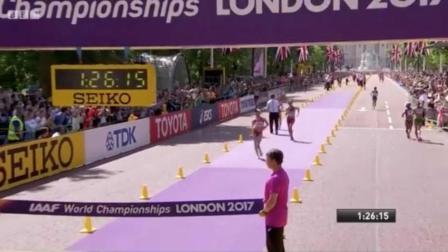 杨家玉世锦赛20公里竞走夺冠 中国队再添金牌