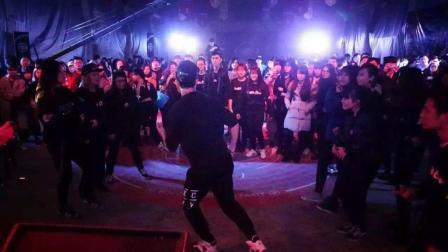 Popping 裁判表演 来自Hozin [Daejupjeon 2017]