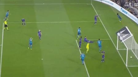 西班牙超级杯, C罗替补献世界波后染红梅西点射, 皇马3: 1巴萨