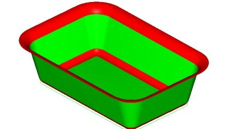 MasterCAM9.1 洗手盘造型(曲面倒圆角案例)