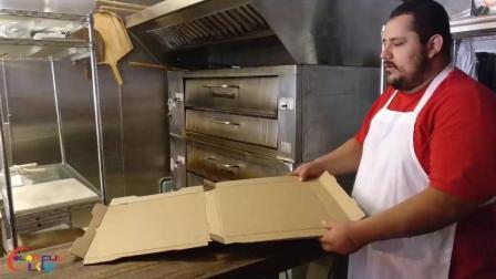 装好一个披萨盒要多久? 快到不能眨眼