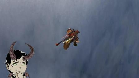 嘉栋解说魔兽世界35期趣味挑战: 从至高岭跳到苏拉玛