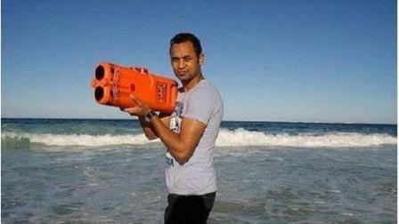 大学生突发奇想, 发明火箭筒救人, 获得国际大奖