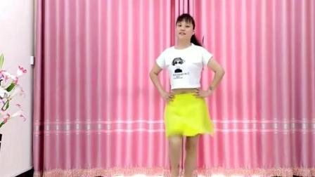 辣妈跳广场舞《粉红色的回忆》光脚版好听好看, 太赞了
