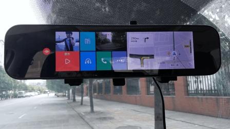 小米70迈智能后视镜评测: 高性价比, 导航+行车记录仪二合一+语音控制方便