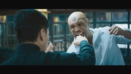《战狼2》火了, 甄子丹突然遭黑了, 别忘了甄子丹曾与泰森的对垒, 势均力敌!