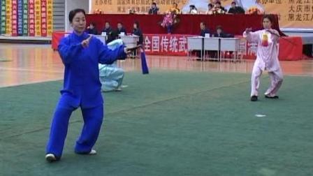 2006年全国传统武术交流大赛 女子器械 068 女子D组32式太极剑