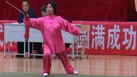 2006年全国传统武术交流大赛 女子器械 069 女子D组32式太极剑
