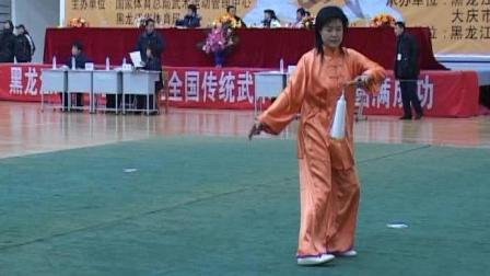 2006年全国传统武术交流大赛 女子器械 071 女子D组太极剑