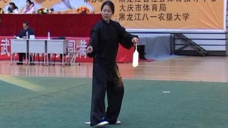 2006年全国传统武术交流大赛 女子器械 072 女子D组太极剑