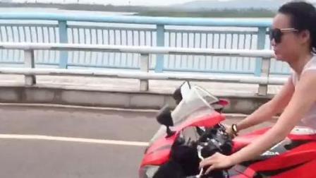 美女视频秀, 美女骑重力摩托车, 霸气