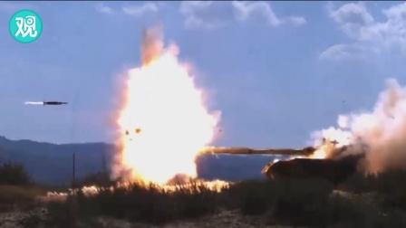 珍贵画面!国产坦克主动防御系统首次单挑RPG火箭筒!