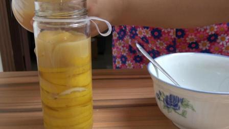 农村妈妈教自制柠檬蜂蜜水, 简单易学, 好喝又能减肥