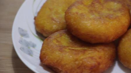 南瓜饼的升级版做法, 家里有儿童的一定要看看
