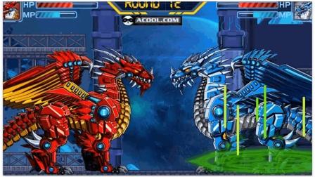 机械冰龙的组装 机械冰龙vs机械火龙 到底谁能赢