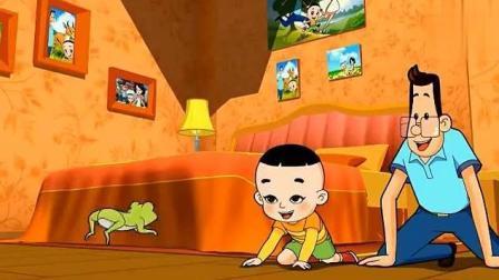 《新大头儿子小头爸爸》大头儿子和小青蛙变成了好朋友