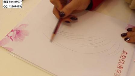 福建学半永久纹绣哪里好-本色纹绣纹眉线条排列视频教程