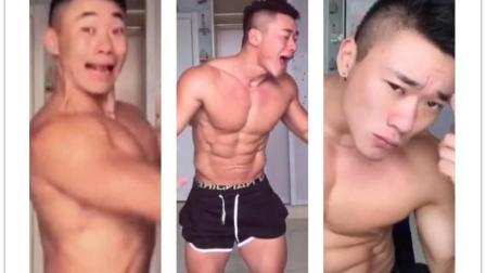 肌肉男系列: 中国最骚气最不做作的肌肉男, 活的真实! ! 【达人8】