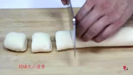 美食美客: 5分钟快做豆沙馅油炸糕, 用它做, 味道就是不一样