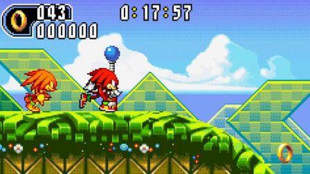 GBA怀旧游戏(第53期)——索尼克大冒险2选用纳克鲁斯一命速通