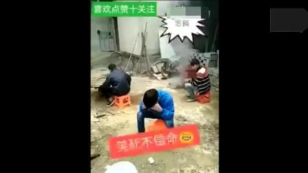 恶搞视频, 广西老表吃鸡粑粑, 恶心死了!