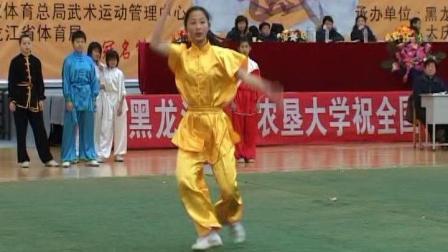 2006年全国传统武术交流大赛 女子拳术  004 女子B组其他拳术