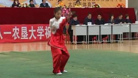 2006年全国传统武术交流大赛 女子拳术 010 女子A组翻子拳