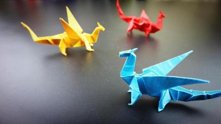 龙折纸, 喜欢挑战的朋友可以试试!