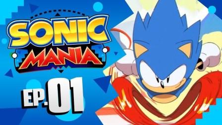 索尼克:狂欢 #1 - 正式版游戏攻略实况流程 1080P画质 (本期:蓝橙双刺猬冒险记) [幽灵猫IM][PS4]