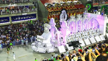 【张先森 迷你Vlog】巴西桑巴大道的狂欢节(下) 051