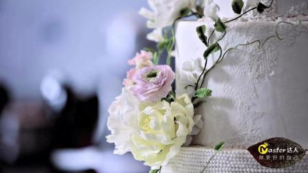 七夕情人节就要到了, 还在为送礼物而烦恼? 翻糖花蛋糕拯救你的浪漫。