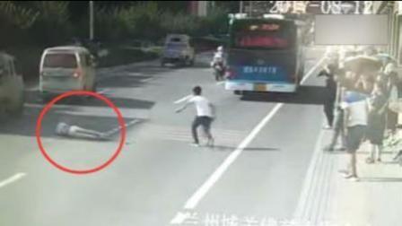 男子酒后横穿马路 栽倒遭车碾压身亡