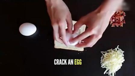 爱剪辑-吐司面包与鸡蛋做的美味