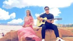 吉他弹唱 咖喱咖喱 美女与果木浪子 指弹打板风格