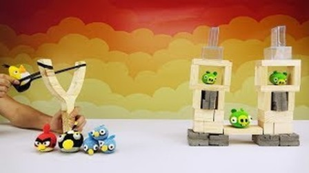 """【极酷花园】用木工板制作"""";愤怒的小鸟""""游戏的全过程【DIY手工系列】"""