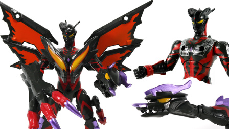 黑暗赛罗奥特曼 魔之奥特龙 暗黑型组合变形奥特曼玩具 鳕鱼乐园