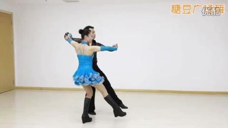 交谊舞: 三步踩 侧面分解和老师示范