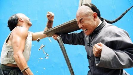 武侠片中最酣畅淋漓的场景之一 李连杰甄子丹曾在此击败无数劲敌#大鱼FUN制造#